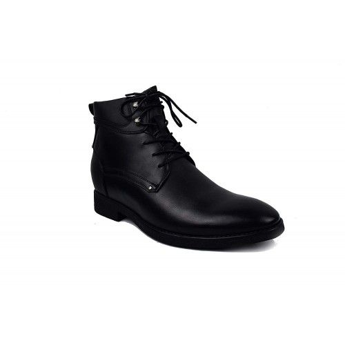 Military style elevator boots with laces 7 cm Zerimar - 2
