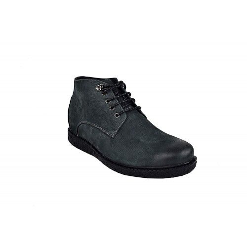 Men Leather Boots, Elevator Shoes 2,3 in, Casual Boots for Men Zerimar - 2