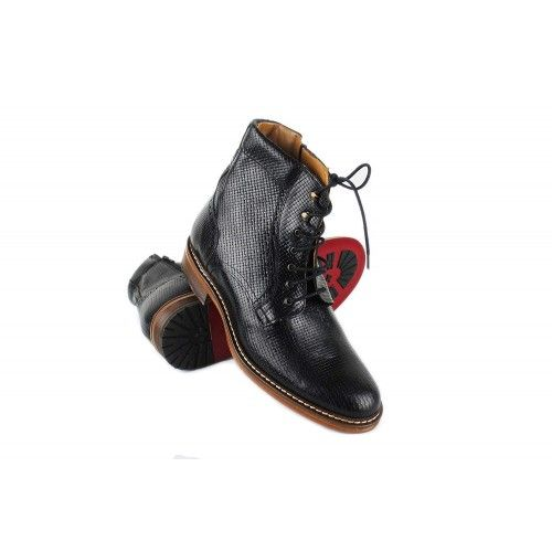 Leather Boots for Men, 2,7 in, Elevator Shoes Men, Casual Boots Men Zerimar - 1