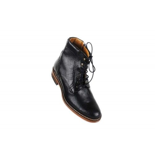 Leather Boots for Men, 2,7 in, Elevator Shoes Men, Casual Boots Men Zerimar - 2