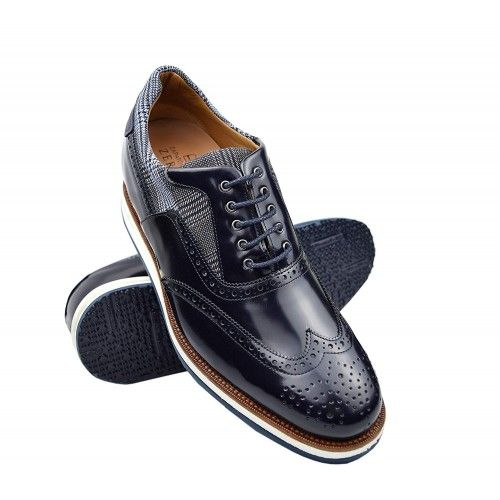 Leather Shoes Men, 2,7 in, Elevator Shoes for Men, Casual Shoes Zerimar - 1