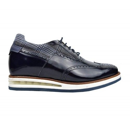 Leather Shoes Men, 2,7 in, Elevator Shoes for Men, Casual Shoes Zerimar - 2