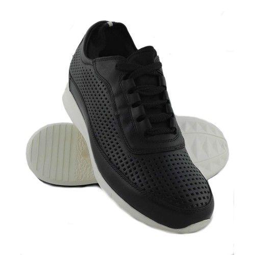 Men Leather Shoes, Elevator Shoes 2,3 in, Sport Shoes for Men 3 Zerimar - 1