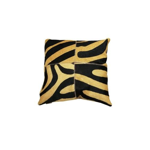 Cowhide Cushion Reversible,...
