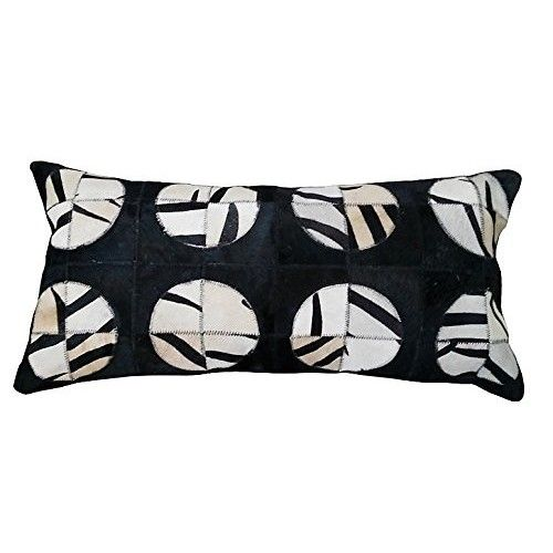 Cowhide Cushion Patchwork,...