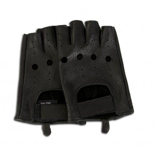 Fingerless leather gloves for drivers Zerimar - 7