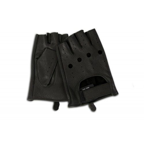 Fingerless leather gloves for drivers Zerimar - 8