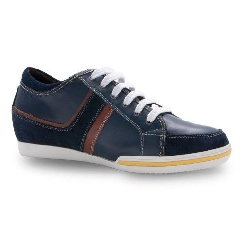 Men Leather Shoes, Elevator Shoes 2,3 in, Sport Shoes for Men 1 Zerimar - 2