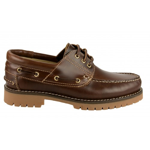 Boat shoes with natural...