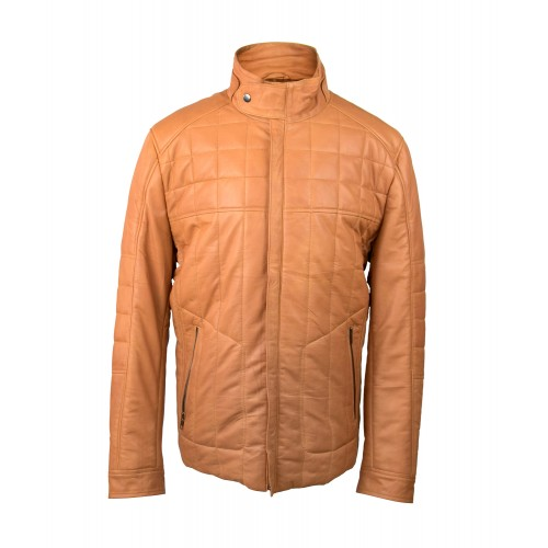 Leather jacket with zip closure model HUME Zerimar - 1