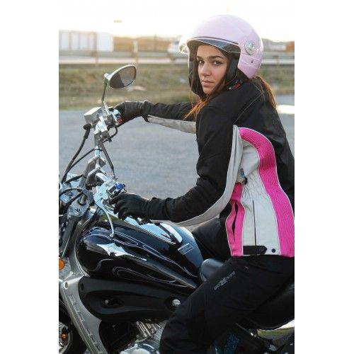 Biker Jacket with...