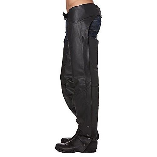 Motorcycle Leather Chaps,...