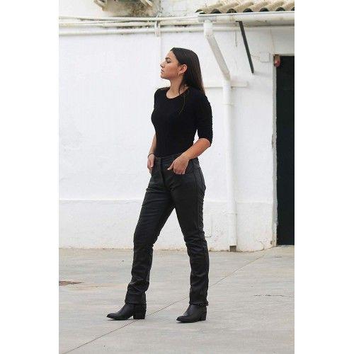 Leather Trousers for Women, Leather Trousers Women, Trousers Women 1 Zerimar - 2