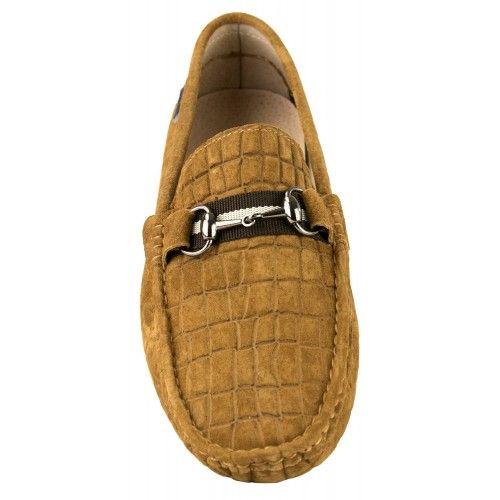 Leather Mocassins Men,...