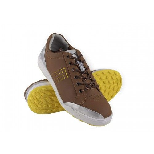 Golf shoes in leather with metallic front Airel - 6