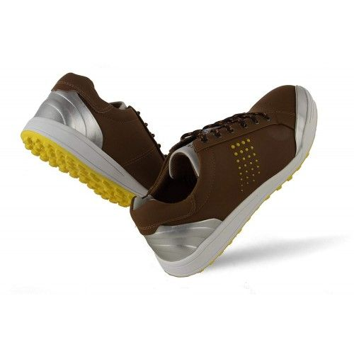 Golf shoes in leather with metallic front Airel - 9