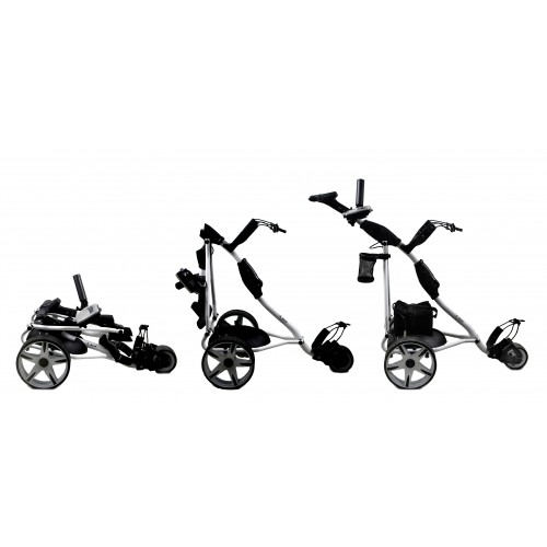 Folding Electric Golf Cart with 3 Wheels - Gel battery Airel - 2
