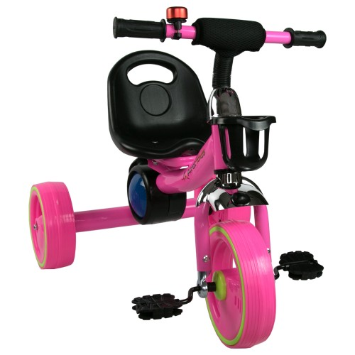 Tricycle with pedals from 2...