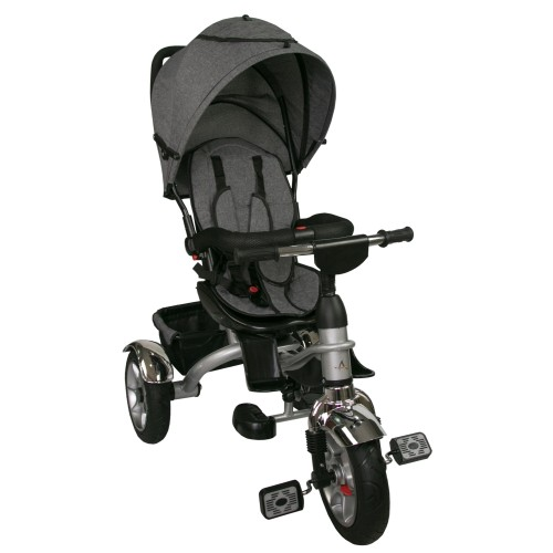 Baby Stroller with 3 Wheels and Hood - Compact Folding Airel - 2