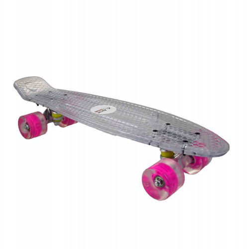 Skateboard with non-slip...