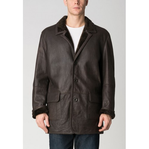 Classic double face jacket with buttoned closure Zerimar - 1