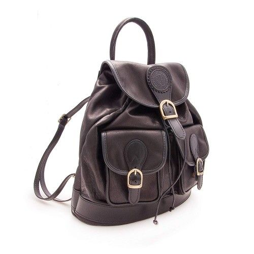 Leather Backpack, Casual...