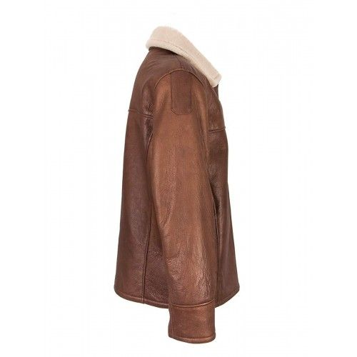 Double face leather jacket with chest pocket Zerimar - 2