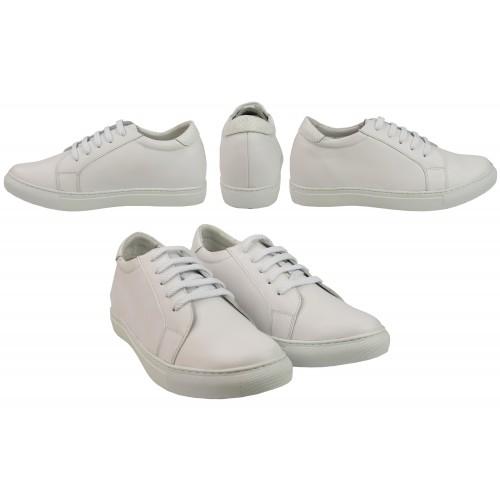 Men Leather Shoes, Elevator Shoes 2,7 in, Sport Shoes for Men 6 Zerimar - 2