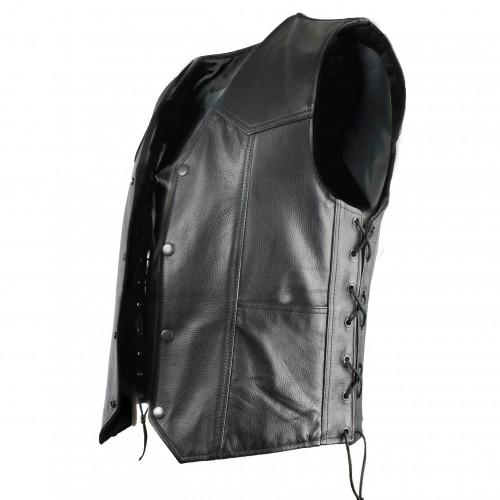 Leather Waistcoat for Men, Waistcoat Men, Leather Waistcoat Men 2 Zerimar - 2