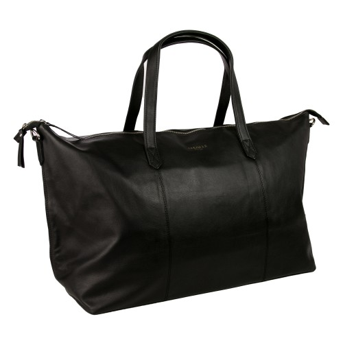 Large leather bag with...