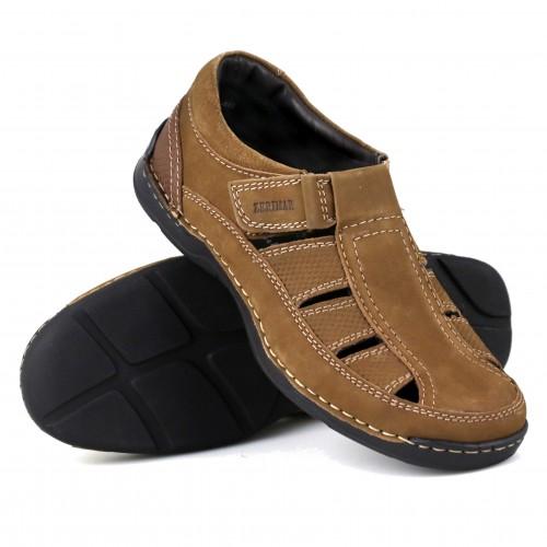 Leather Sandals for Men, Trekking Sandals Men, Summer Sandals Men 2 Zerimar - 1