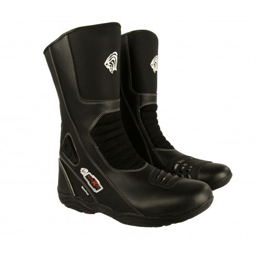 Leather Boots for Motorcycle, Motorcycle Leather Boots, Boots Moto Kenrod - 1