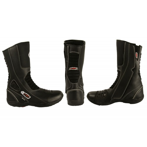 Leather Boots for Motorcycle, Motorcycle Leather Boots, Boots Moto Kenrod - 2