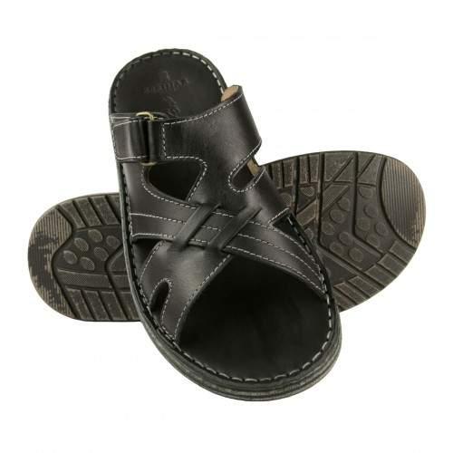 Leather sandal CARONTE model Zerimar - 1