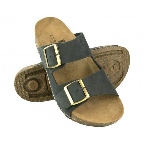 BIOS double buckle leather sandals Zerimar - 1