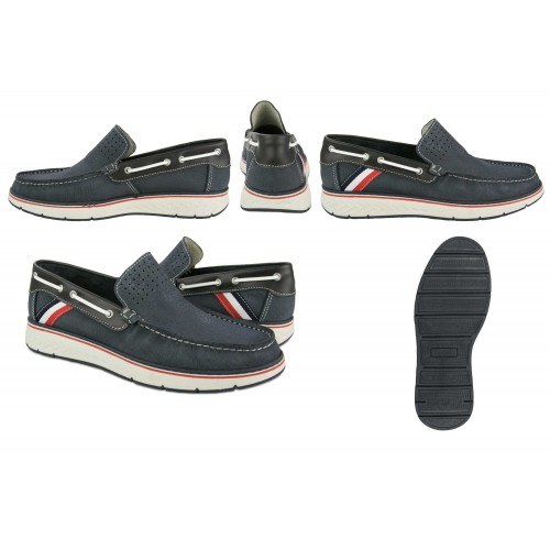 Natural leather moccasins...
