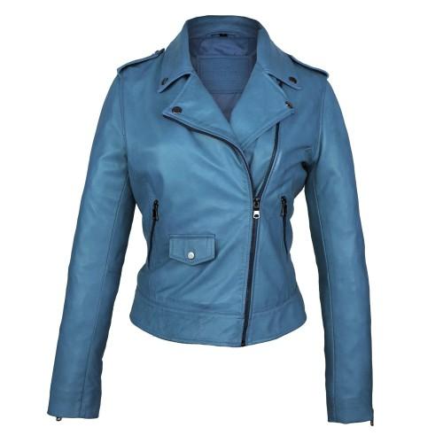 SUR model leather jacket...