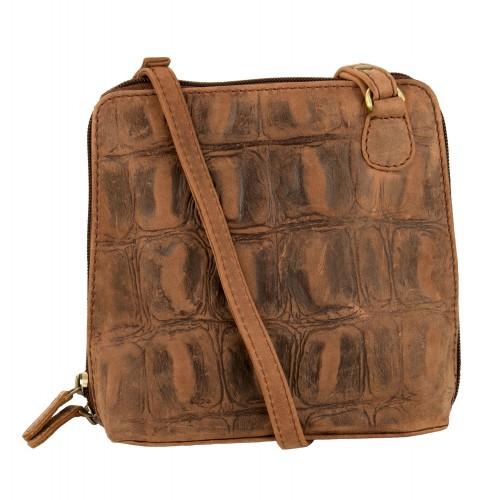 MINI engraved leather bag...