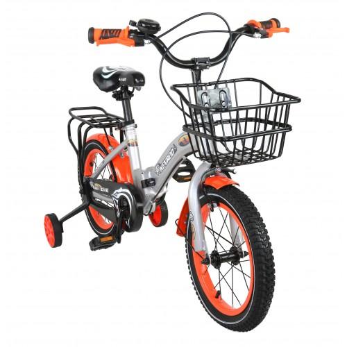 14-18 Inch Kids Folding Bike with Basket Airel - 1